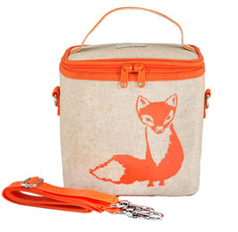 Orange Fox Cooler Bag - Small