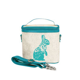 Aqua Bunny Cooler Bag - Small