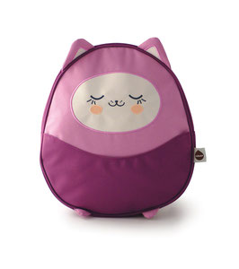 Kawaii Mini Backpack - Plum