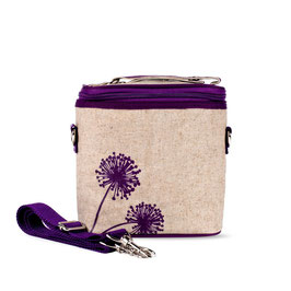 Purple Dandelion Cooler Bag - Large