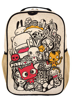 Soyoung Pixopop Pishi and Friends Grade School Backpack