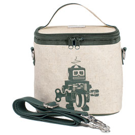 Grey Robot Cooler Bag - Small