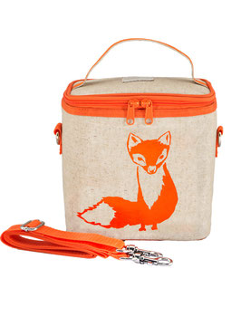 Orange Fox Cooler Bag - Large
