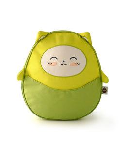 Kawaii Mini Backpack - Lime