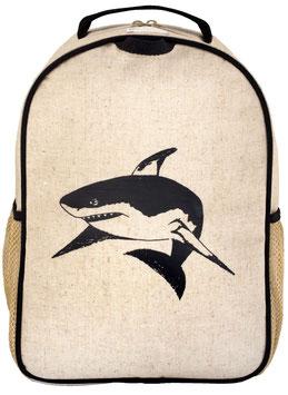 Black Shark Toddler Backpack