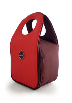 Stoh Candy Apple Red Lunch Tote