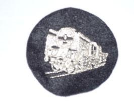 Spartenaufnäher Uniform silber