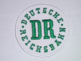 Aufnäher DR - Deutsche Reichsbahn
