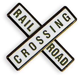Railroad Crossing (2 Stück)