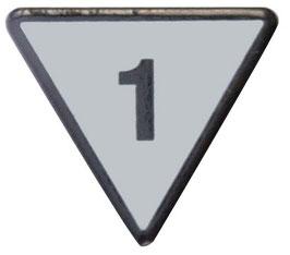 Geschwindigkeitstafel 1