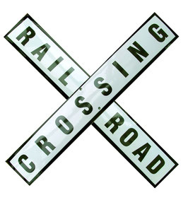 Railroad Crossing (2 Schilder)