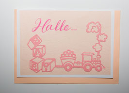 -Hallo- Karte