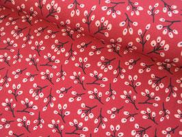 Viskosejersey, Ella - Blüten pink by jolijou