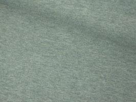 Baumwolljersey, meliert - rauchblau