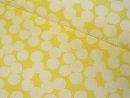 0,10 m Canvas, Tillisy Punkte - gelb
