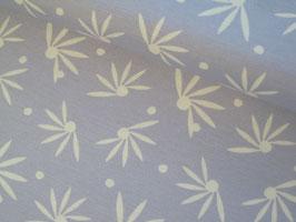 0,10 m Canvas, Tillisy Blumen - blau