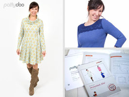 Ella - Jerseykleid by pattydoo