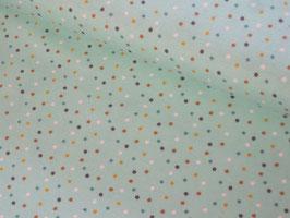 0,10 m Baumwolljersey, Mini Jungle Confetti - mint