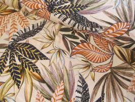 Viskosejersey, Annina - Blätterprint