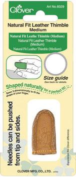 Lederfingerhut mit natürlicher Passform