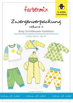 Zwergenverpackung, Vol.II - Babyschnittmusterkollektion
