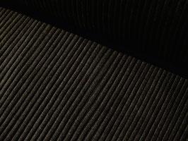 0,10 m großes Strickbündchen, uni - schwarz