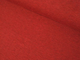 French Terry Sweat, meliert - burgundy