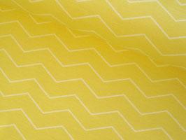 0,10 m Canvas, Tillisy Chevron - gelb