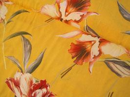 Viskosestoff, Ofira - Blumen sonnengelb