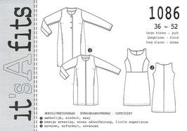 It´s A fits 1086, Longblazer - Kleid