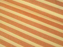 Webstoff, Webstreifen - rot/weiß