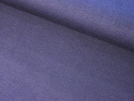 0,10 m Romanitjersey, uni - rauchblau