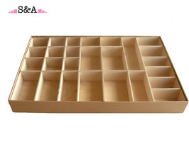 Kustīgā alfabēta kaste Nr. 1 - mazajiem rakstītajiem burtiem