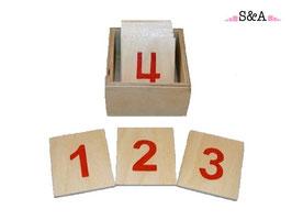 Mazās ciparu kartītes (1-10)