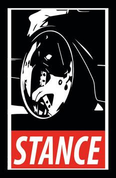 Stance Tuning Sticker