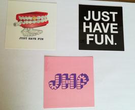 Just Have Fun Sticker Set
