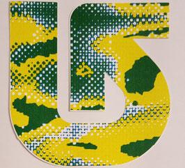 Burton - Snowboard Sticker - Pfeil - gelb/grün