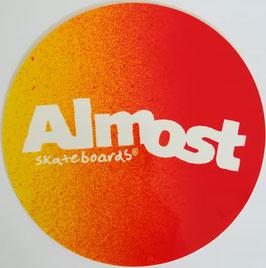 Almost Skateboards  - Rund Gelb/Orange