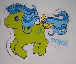Enjoi Skateboards - My little Pony - Grün