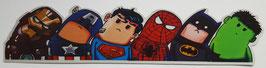 Superhelden Ensemble Sticker