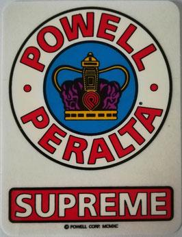 Powell Peralta Sticker - Supreme