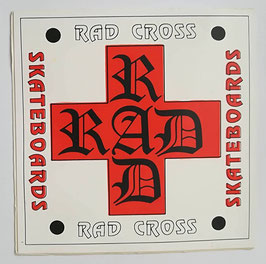 Rad Cross Skateboards Sticker