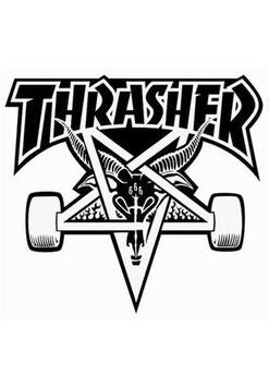 Thrasher - Goat- Schwarz