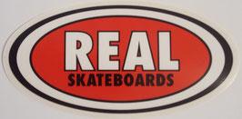 Real Skateboards Sticker