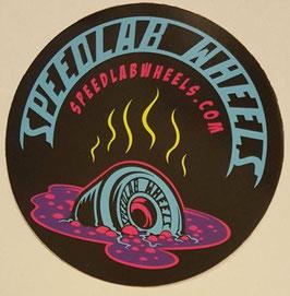 Speedlab Wheels - Melting Wheel Sticker