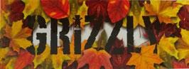 Grizzly Griptape - Schriftzug - Herbst