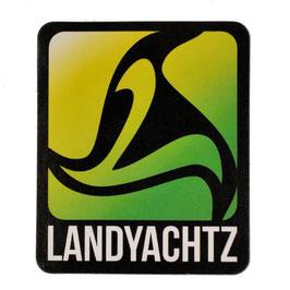 Landyachtz - Square Logo - Grün