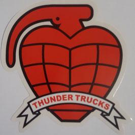 Thunder Trucks Sticker Granate