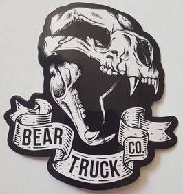 Bear Trucks Sticker - Animal Skull