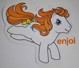 Enjoi Skateboards - My little Pony - Weiß/Orange